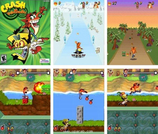 Crash Twinsanity » Java игры и приложения - скачать на телефон