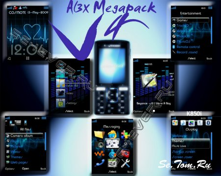 Al3x Megapack V4 For SE K850i