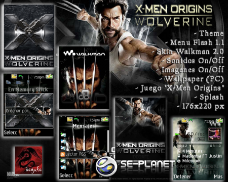 X-Men Origins Wolverine [176x220]