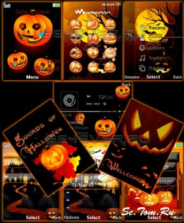 Gourds Of Halloween - Mod Pack Flash Lite 2.1