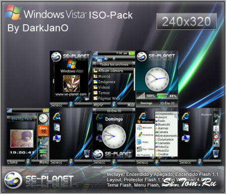 Windows Vista Ultimate ISO-Pack EXCLUSIVO [240x320]