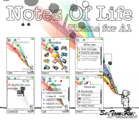 Notes Of Life - Theme for A1 [240x320]